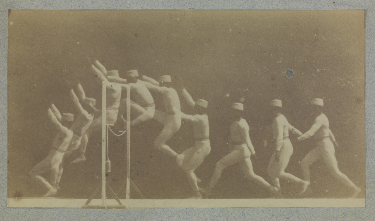 Chronophotograph of a Man Clearing a Hurdle, c.1892, Étienne Jules Marey © National Media Museum, Bradford SSPL