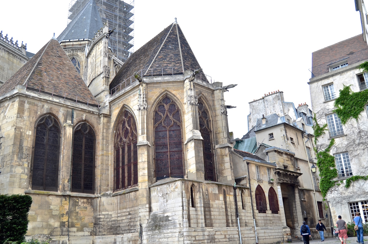 The Saint-Louis en l'île church in Paris, one of the buildings that will be restored under mayor Hidalgo's plan. (photo by David McSpadden/Flickr)