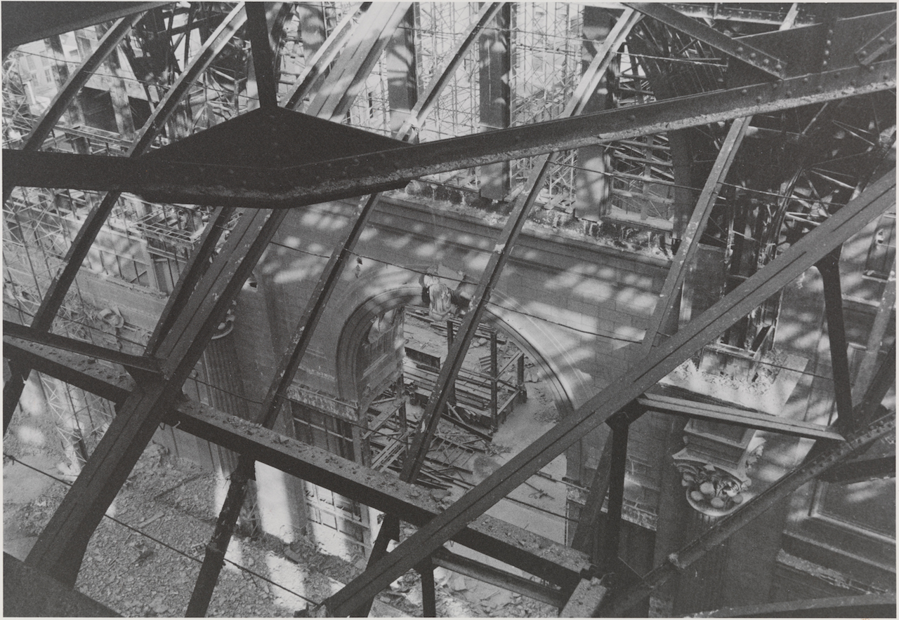 Demolition of Pennsylvania Station (1964-65) (photograph by Aaron Rose, courtesy Museum of the City of New York)