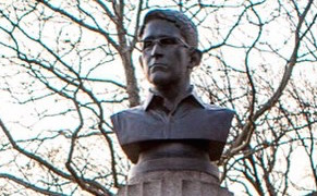 Post image for Renegade Edward Snowden Monument Erected (and Quickly Removed) in Brooklyn Park