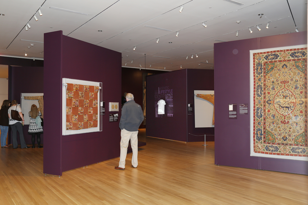 Installation view of 'Unraveling Identity: Our Textiles, Our Stories' at the Textile Museum (all photos by the author unless noted otherwise)