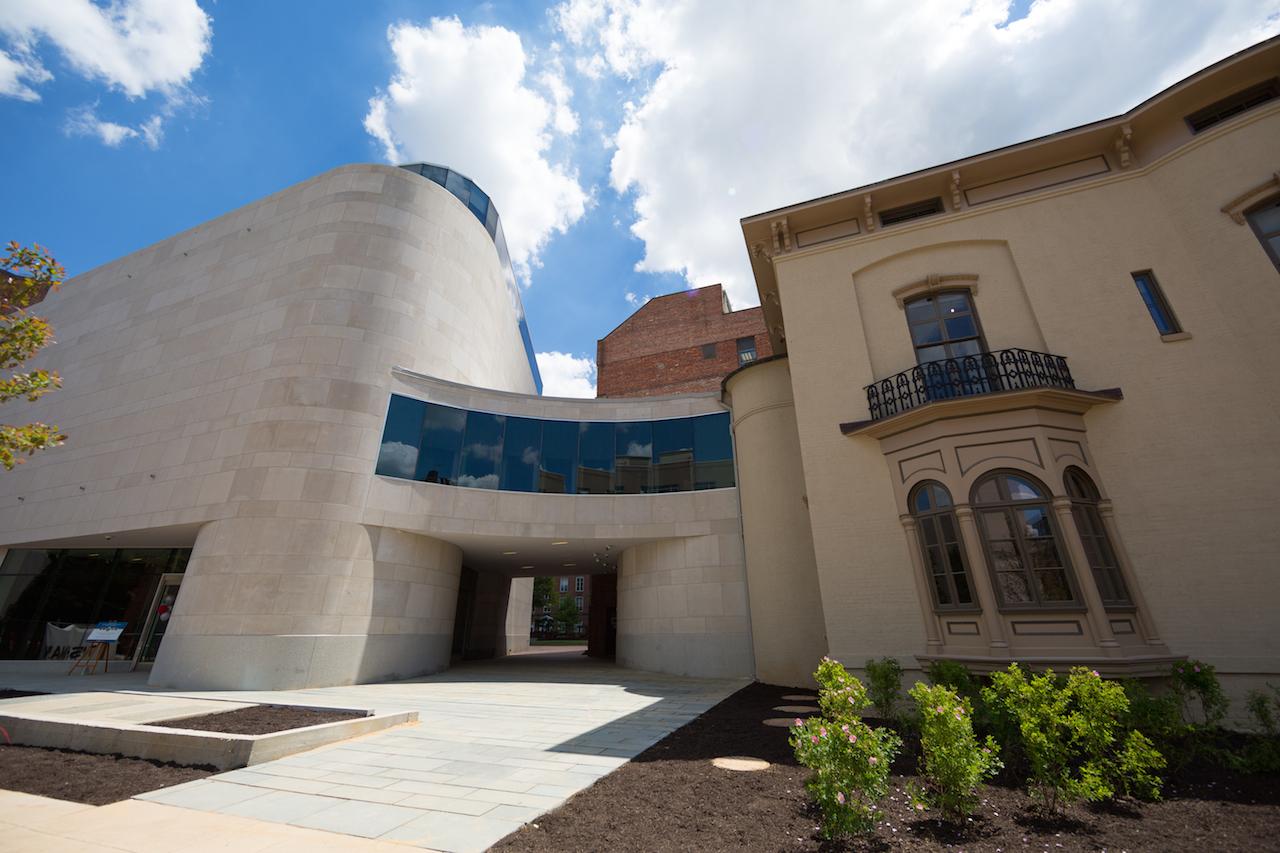 Textile Museum exterior (photo by Jessica McConnell Burt, courtesy the George Washington University)