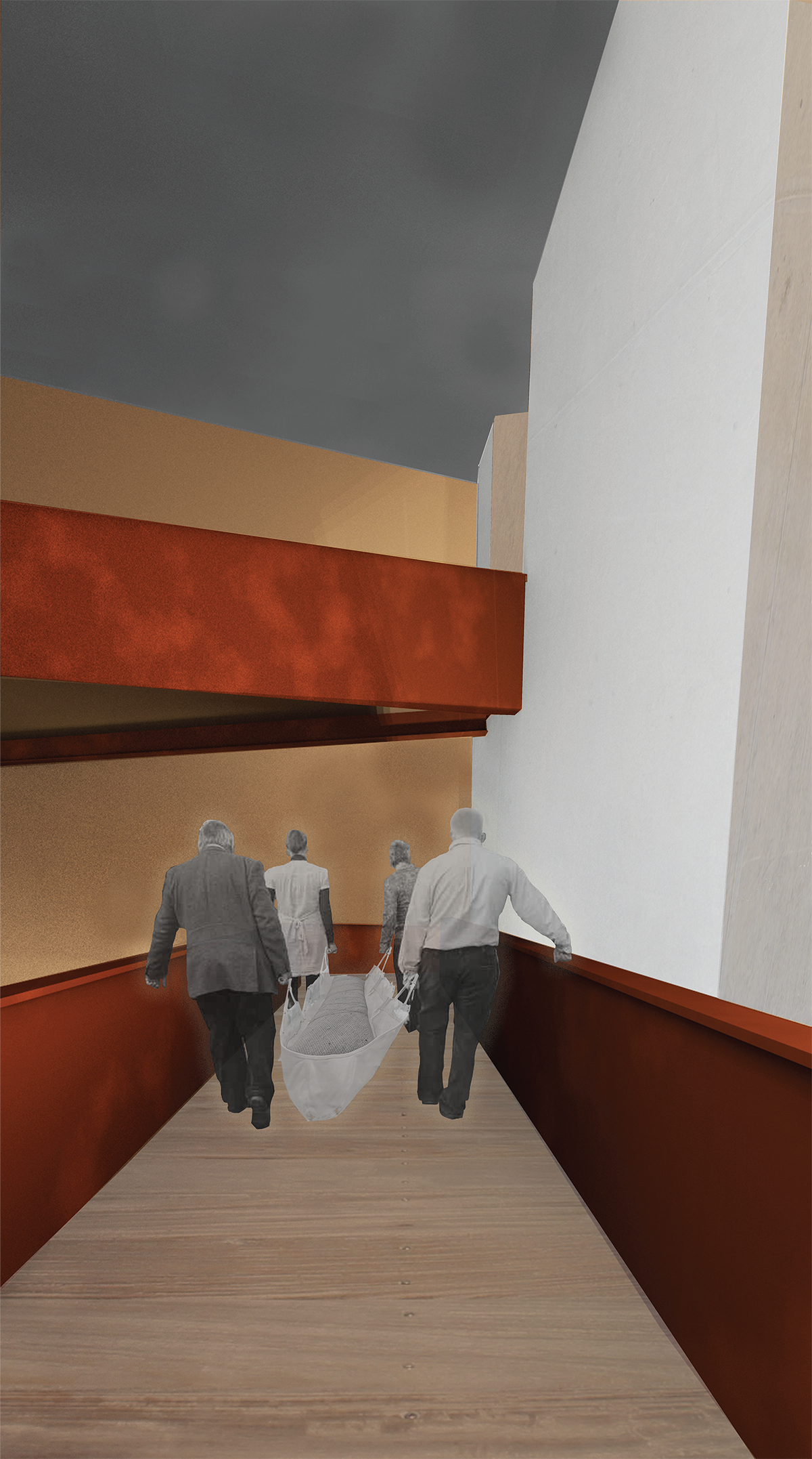 Rendering for the Urban Death Project (courtesy Katrina Spade)