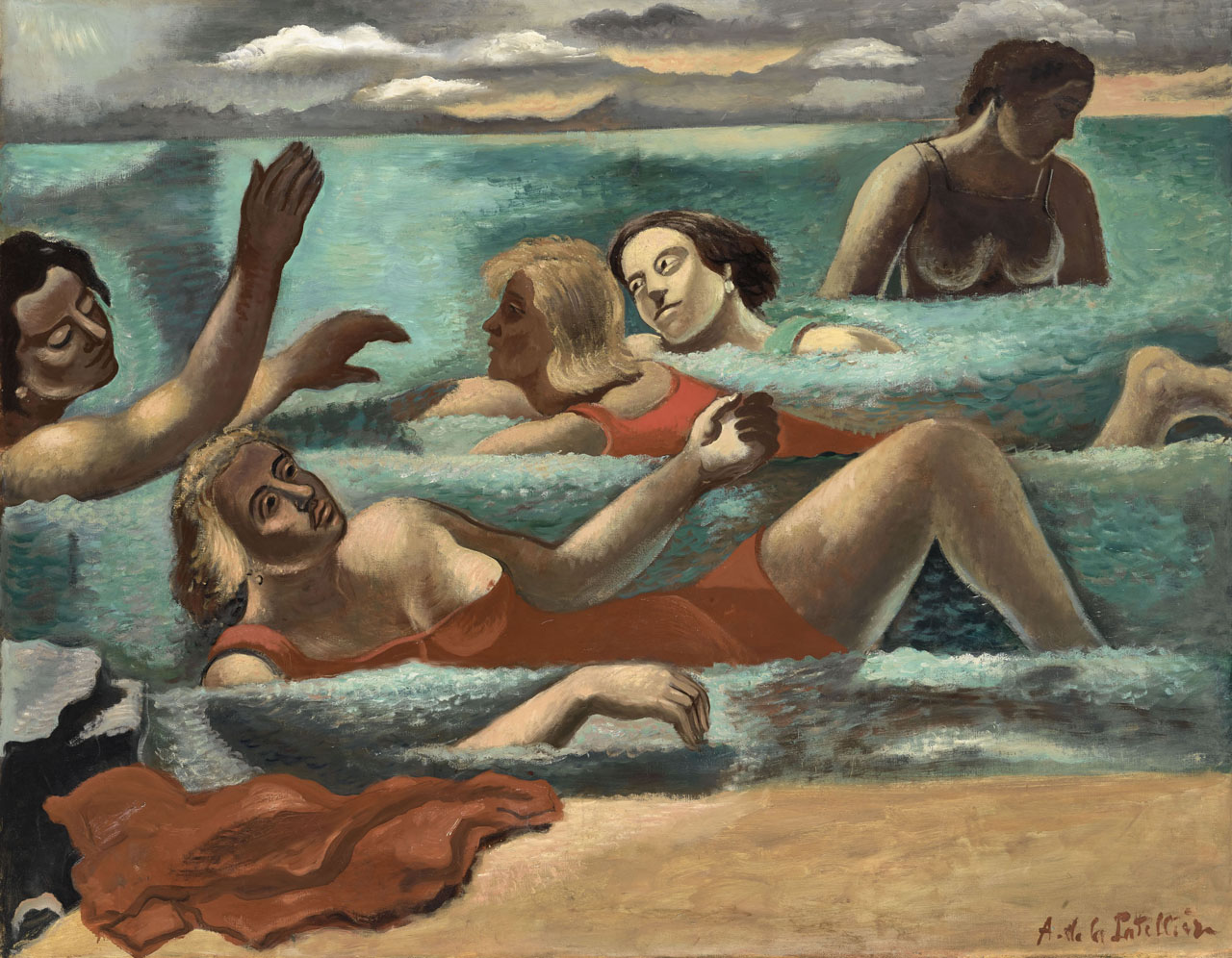 """Baigneuses à Bandol"" (1928) ©RMN-Grand Palais (MUDO-Musée de l'Oise) _ Adrien Didierjean"