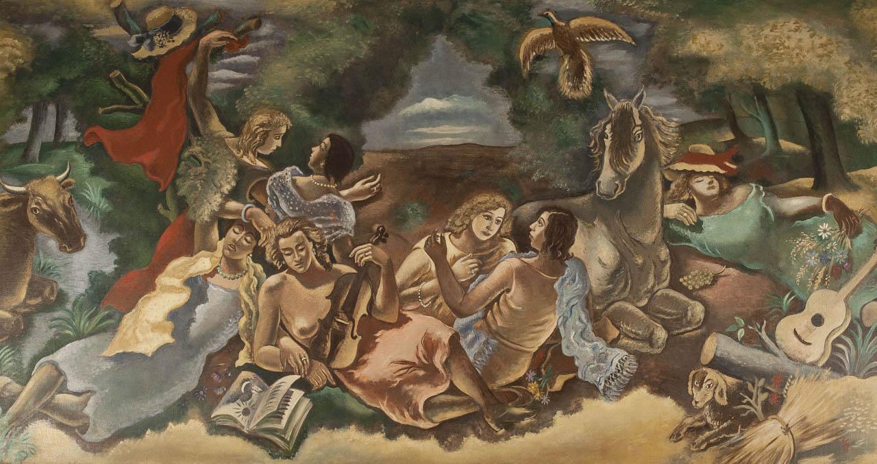 """Le Concert Champêtre"" (1929) Collection Larock-Granoff  © Alain Leprince"