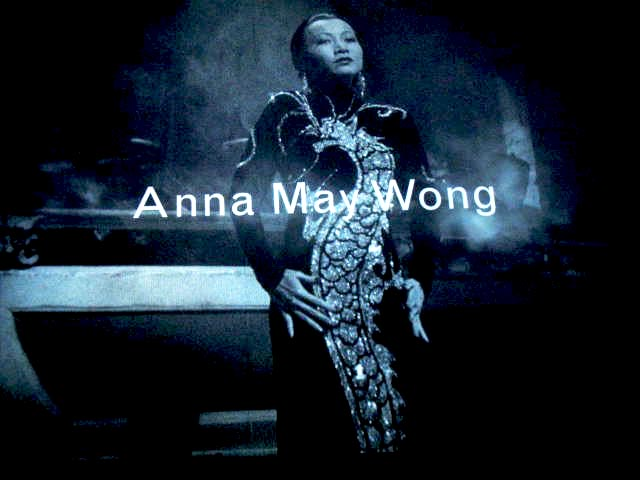 Ana May Wong film still Limehouse Blues 1923, photo by Ellen Pearlman