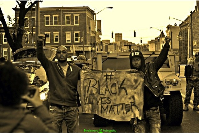 A photo from the streets of Baltimore (photo by @nellaware/Instagram)