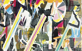 Post image for Abstract Paintings that Reflect the Rhythms of Our Time