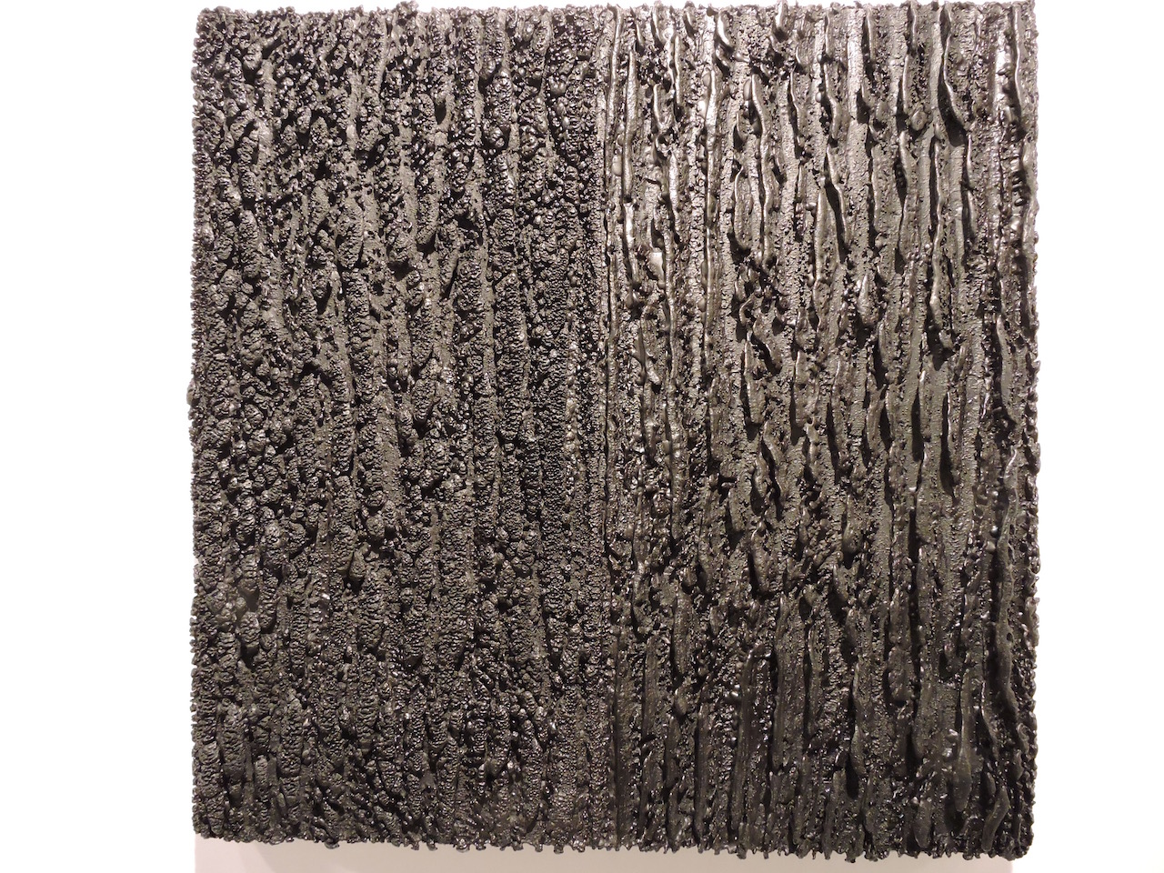 Artist Unknown, Black Abstraction (photo by author)