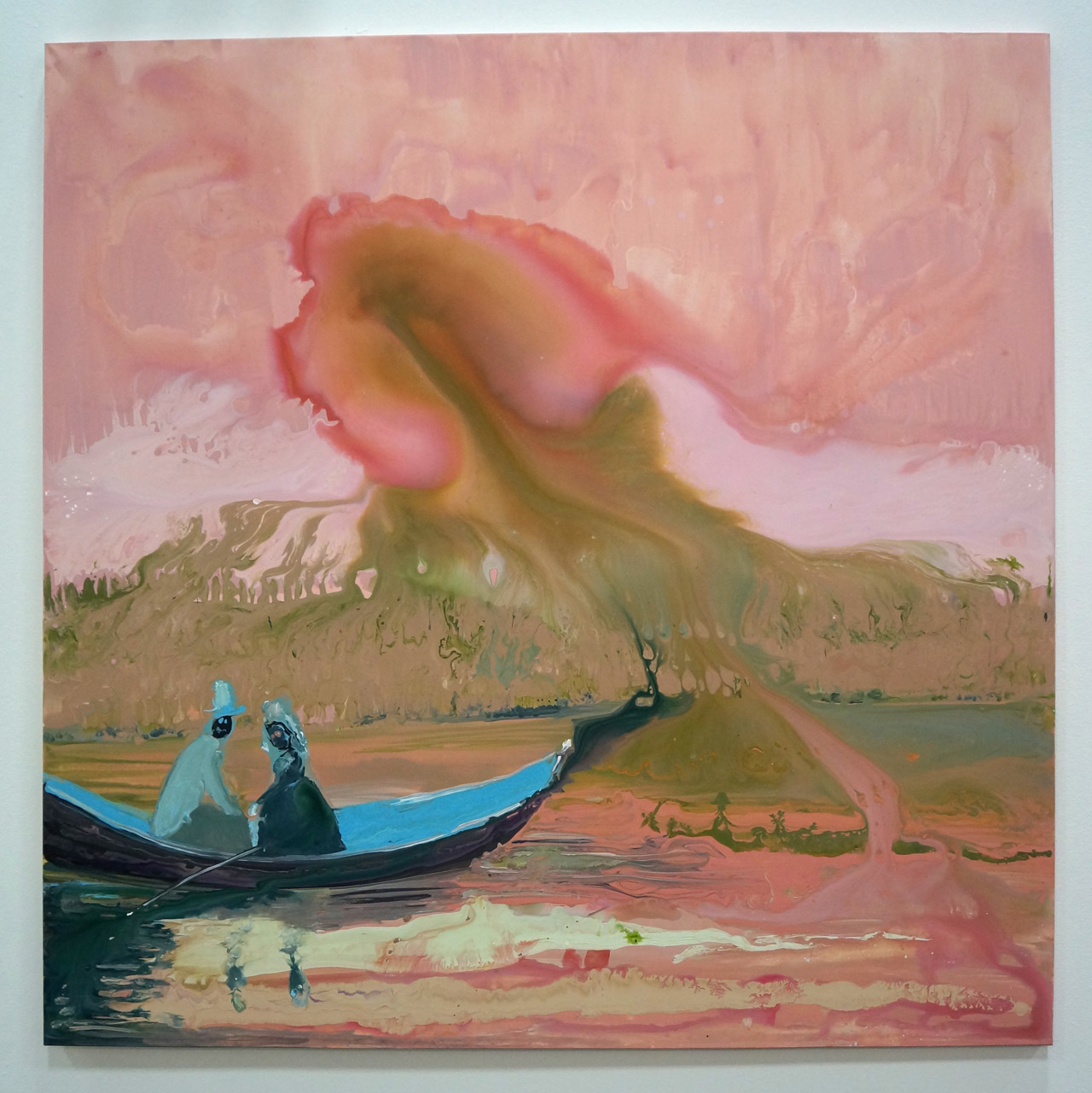 A work by Genevieve Figgs on view at Half Gallery's booth