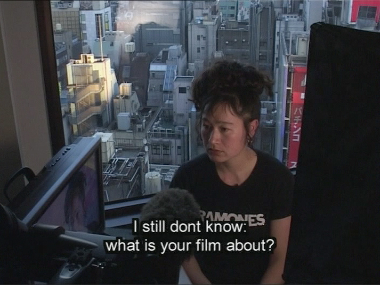 """Hito Steyerl, still from """"Lovely Andrea"""" (2007), digital video with sound, 30 mins (courtesy the artist)"""