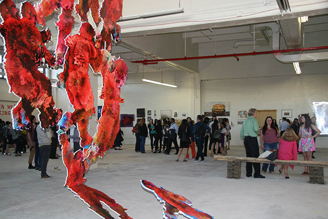 An antidote to the art fairs open studios in long island city for Craft fairs long island