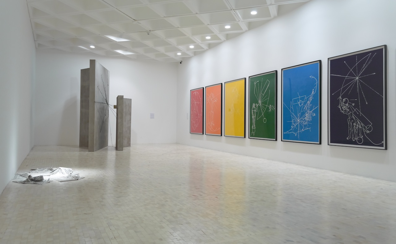 Pablo Vargas at Museo Tamayo (photo by Paolo Montalvo)
