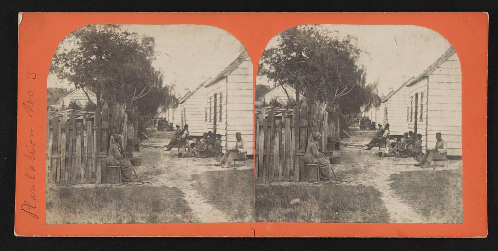 Plantation no. 3 Slave quarters - Osborn & Durbec