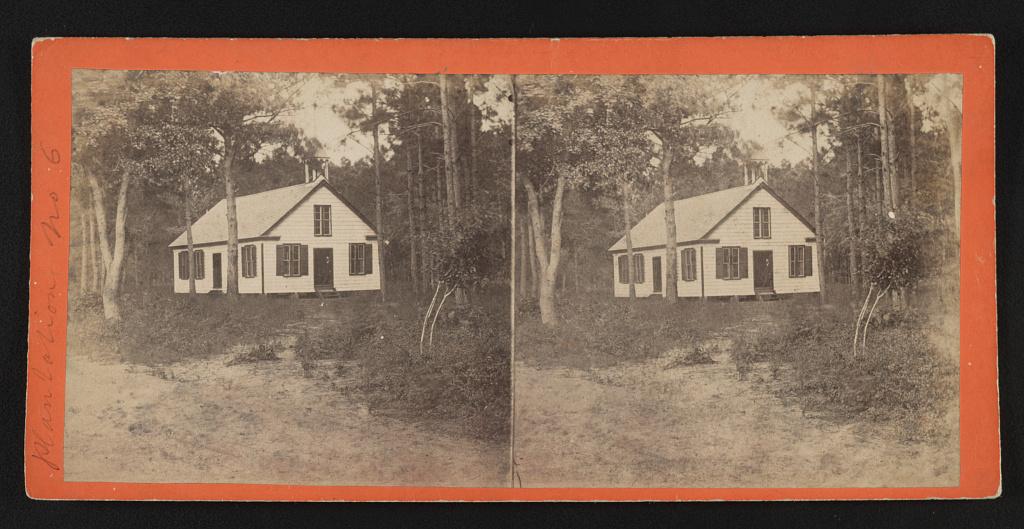 Plantation no. 6 Rockville Plantation Negro church, Charleston, S.C. - Osborn & Durbec