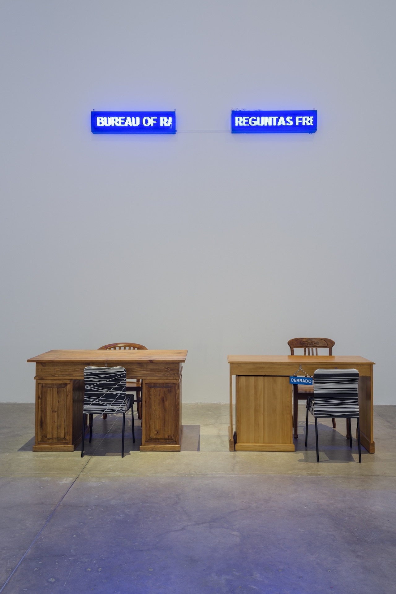Work by Raqs Media Collective at MUAC (image courtesy MUAC) (click to enlarge)
