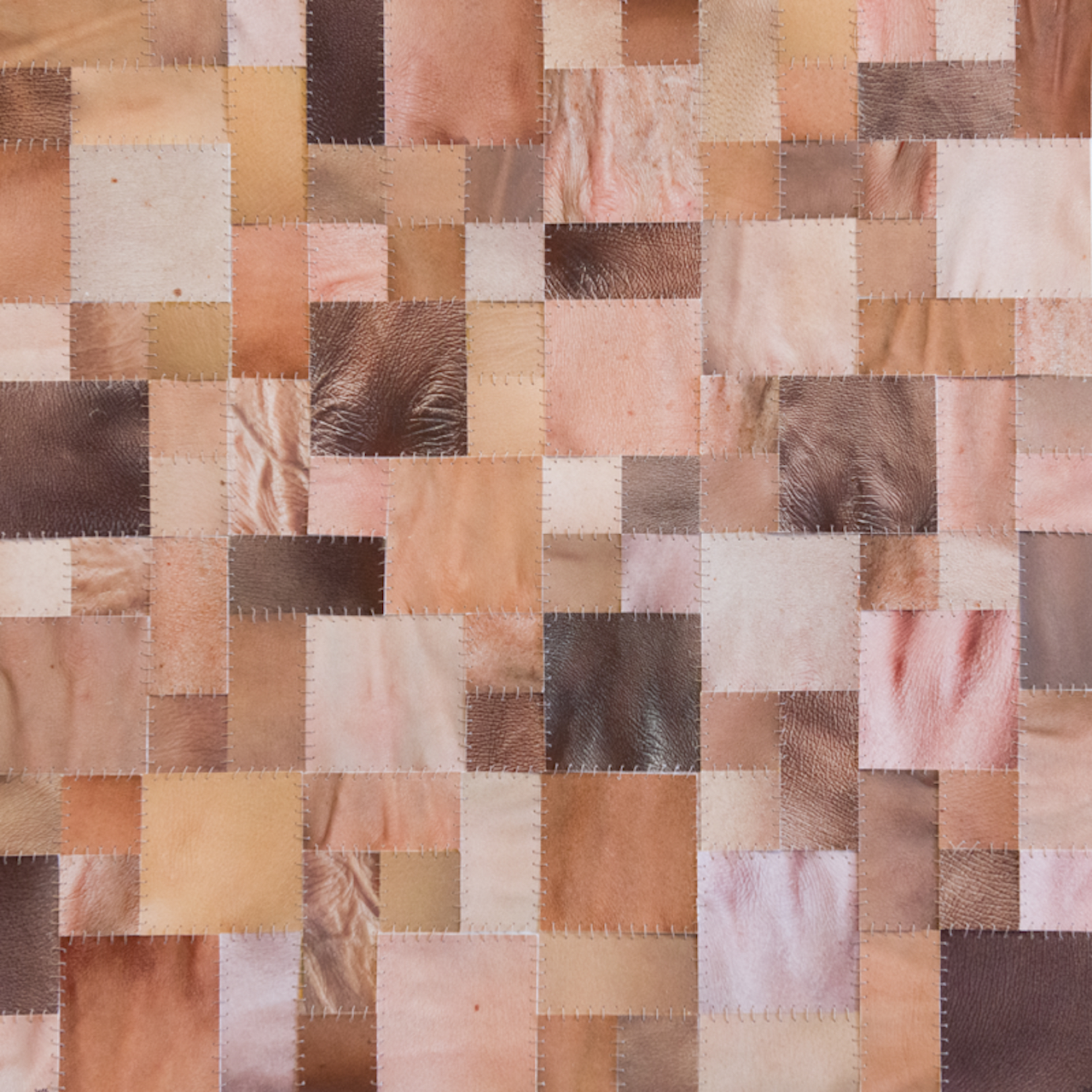 """Capucine Bourcart """"Skin Quilt"""" (2015) (photo courtesy of the artist)"""