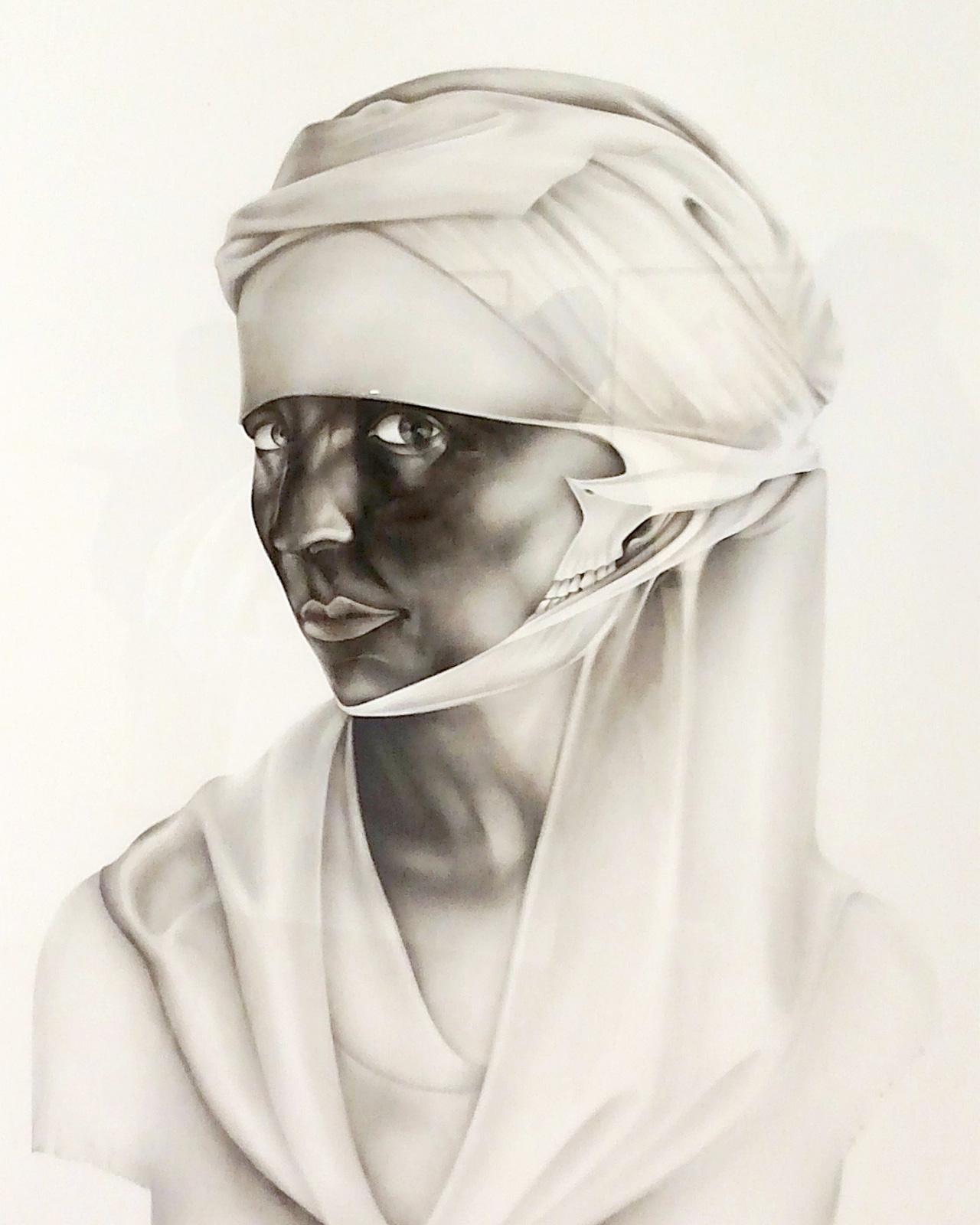 "Detail of Taravat Talepasand, ""Sanctioned II"" (2014)"