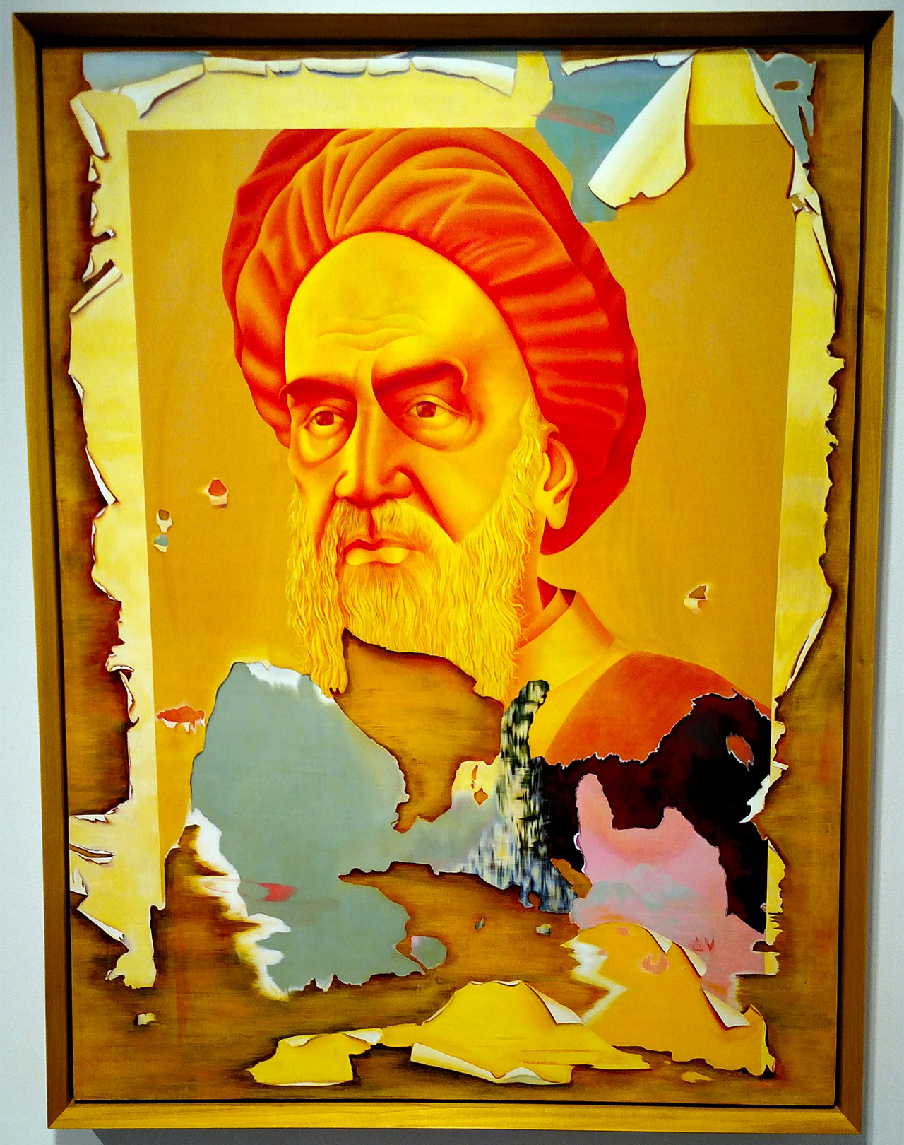 "Taravat Talepasand, ""Khomeini"" (2015)"