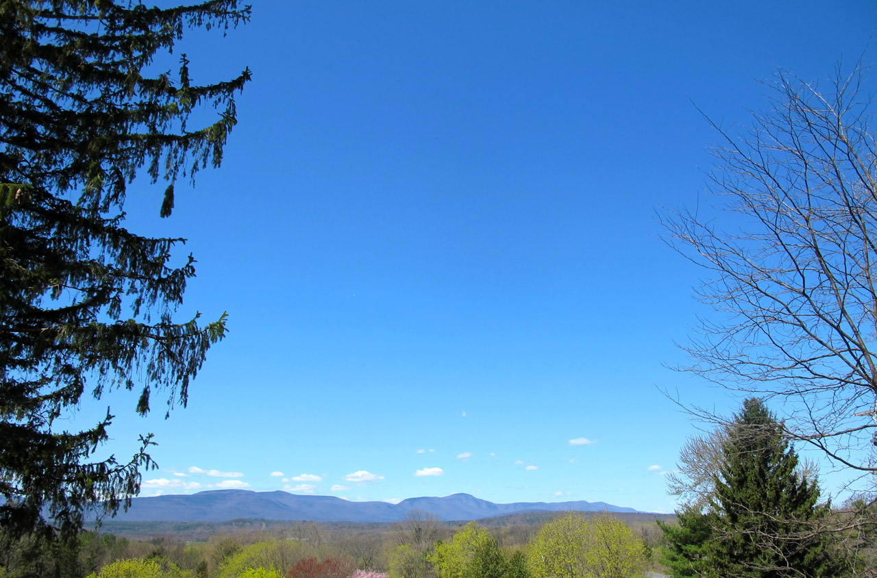 The view from the Thomas Cole National Historic Site