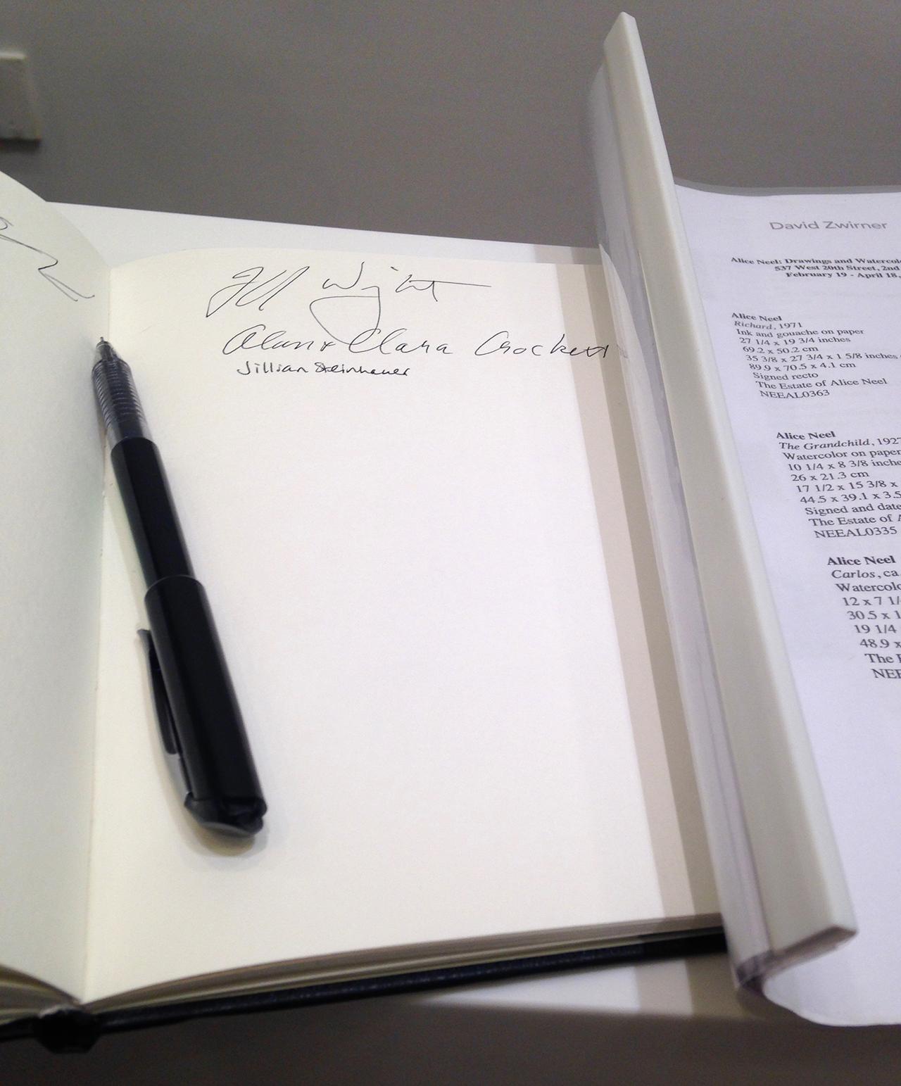 Pen at David Zwirner