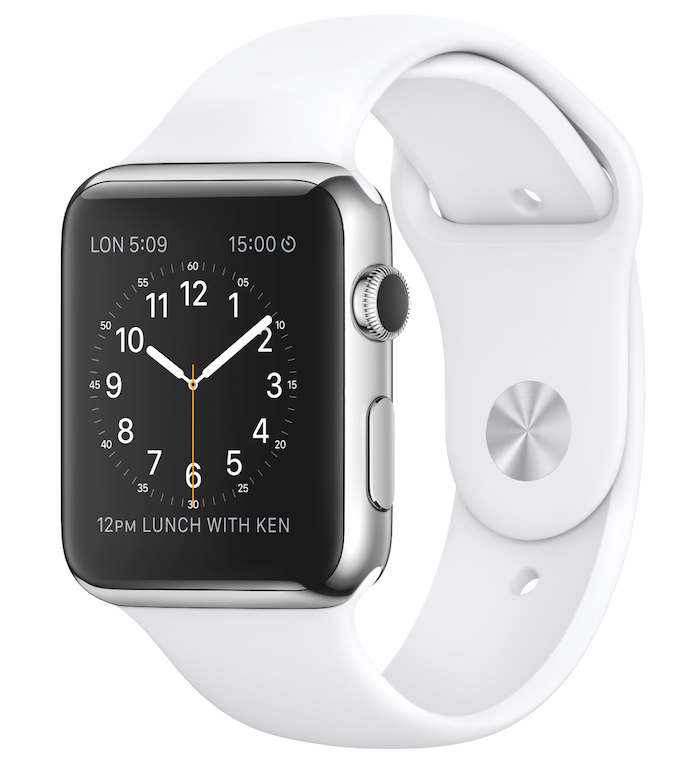 The Apple Watch (courtesy Apple)