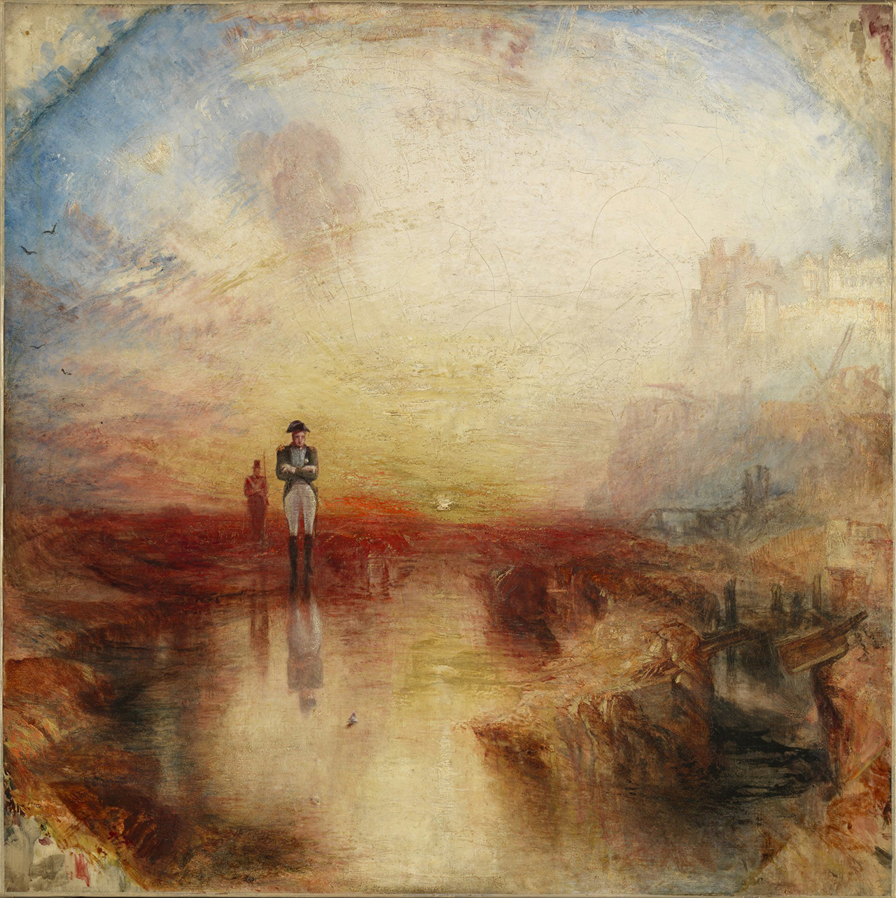 """J.M.W. Turner, """"War. The Exile and the Rock Limpet"""" (exhibited 1842), oil on canvas (Tate: Accepted by the nation as part of the Turner Bequest 1856 Photo © Tate, London 2014)"""