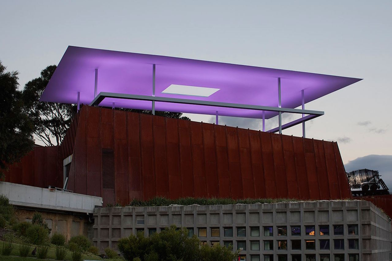 The Museum of Old and New Art in Hobart, Tasmania (photo by Museum of Old and New Art, via Facebook)