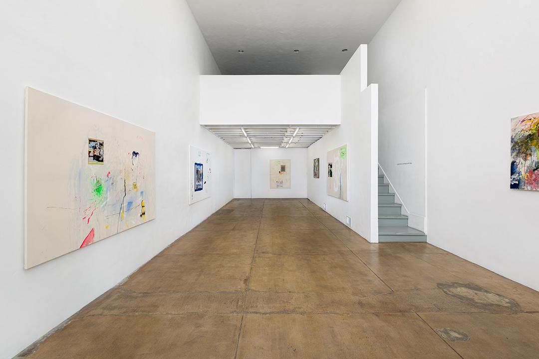 "Verena Dengler: ""American Painting"" Ground Floor Installation View"