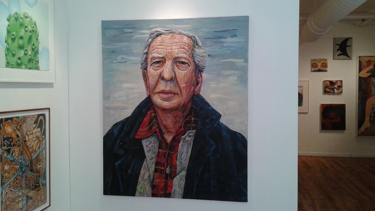 "Jon Imber, ""Portrait of Philip Guston"" (2010)"