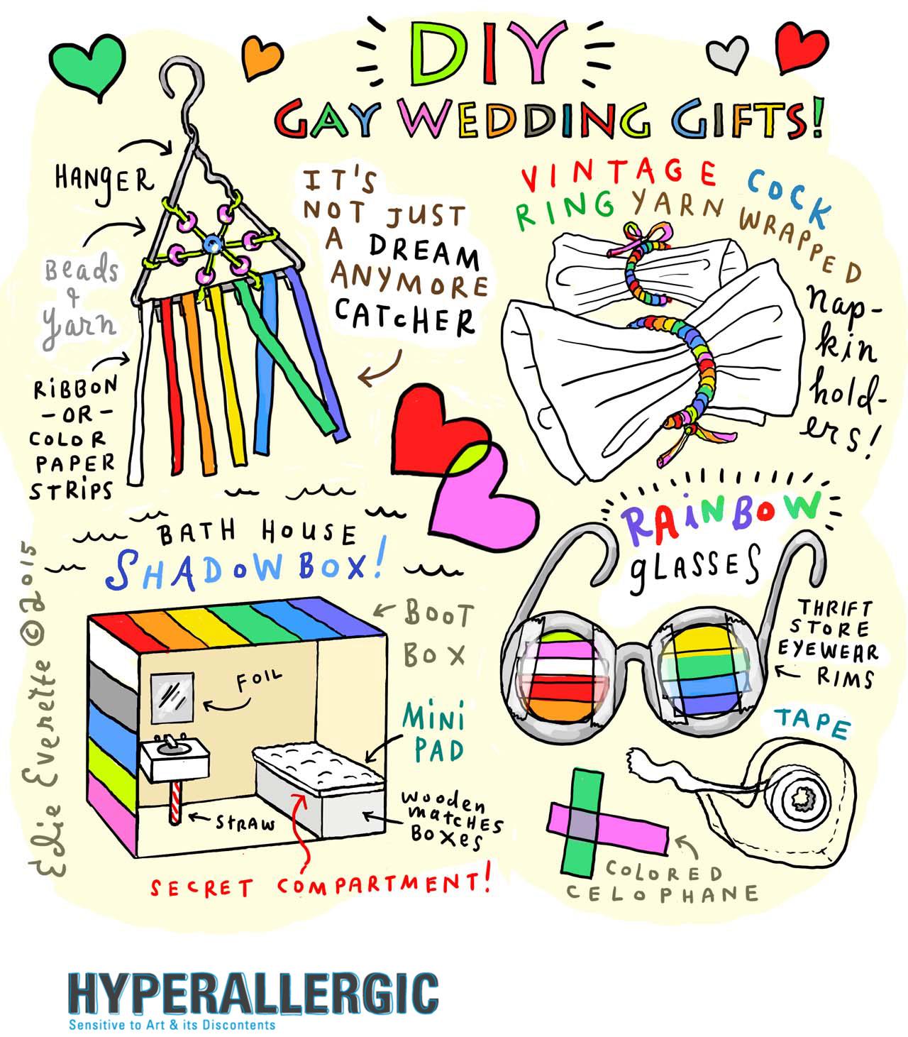 Diy Gay Wedding Gifts