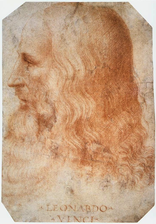 A portrait of da Vinci by his student Francesco Melzi (Image via Wikimedia Commons)