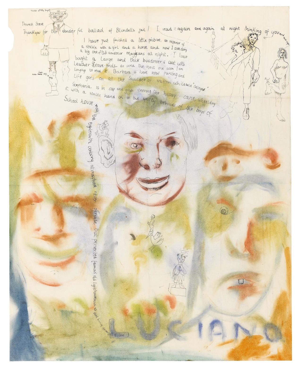Freud, Letter to Stephen Spender (1941) - Self-Portrait