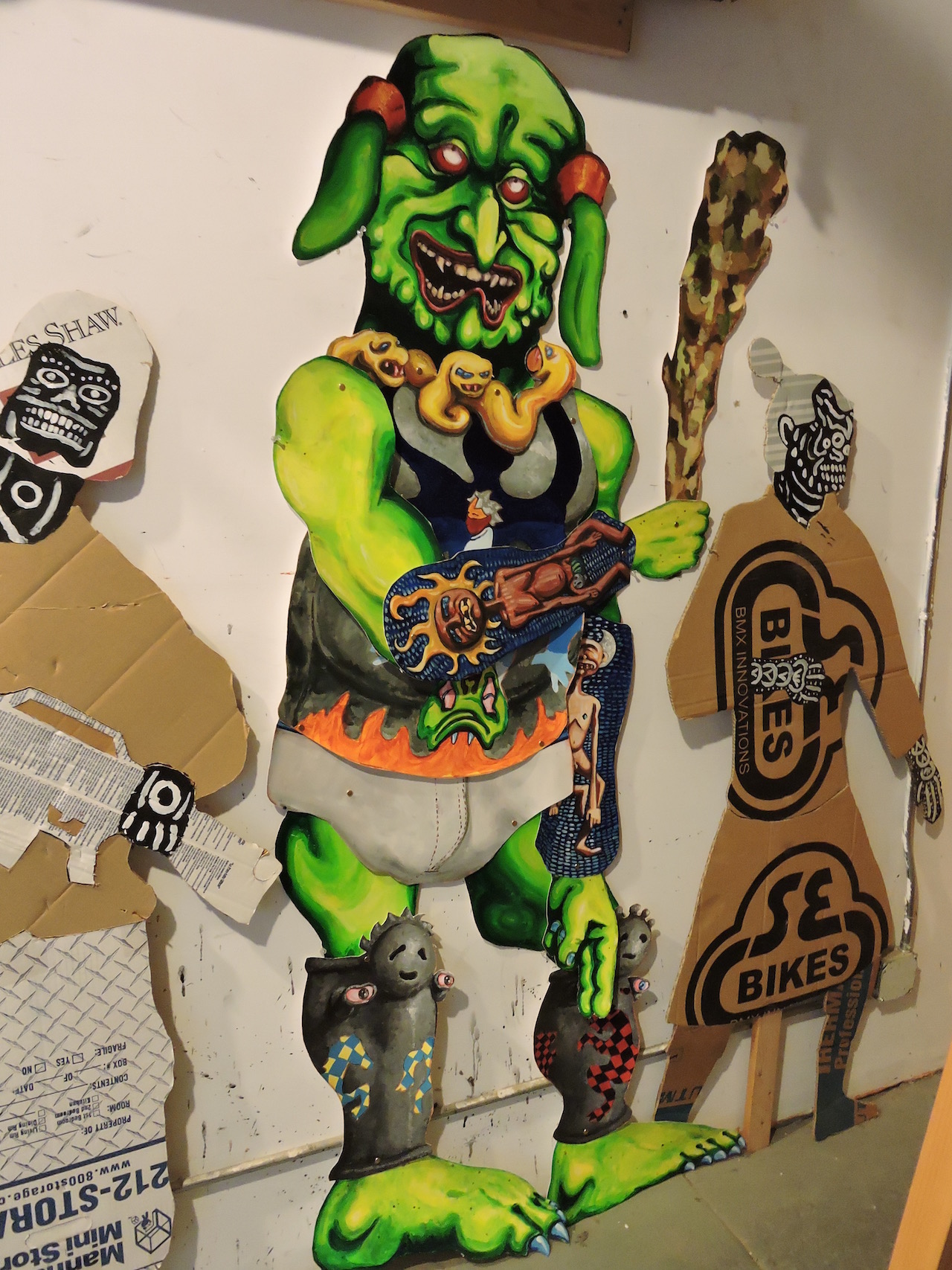 """Mike Estabrook, """"Troll"""" (2010) (photo by author)"""
