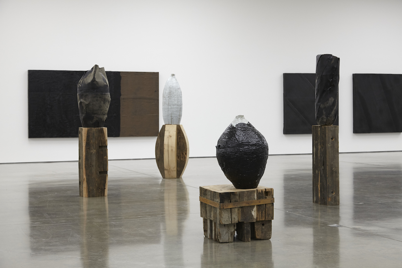 Theaster Gates Meditates On Construction In A White Cube
