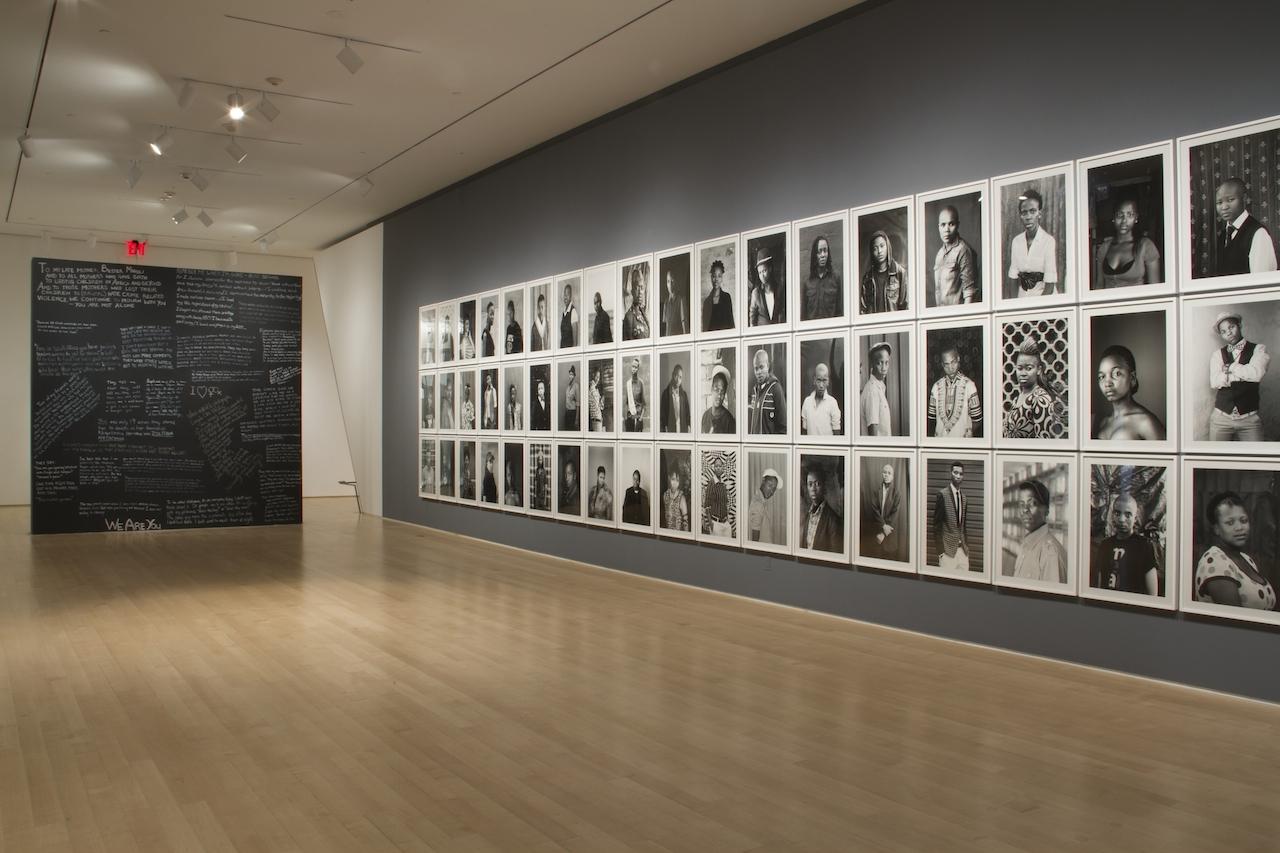 Zanele Muholi. Installation View. Courtesy of the Brooklyn Museum