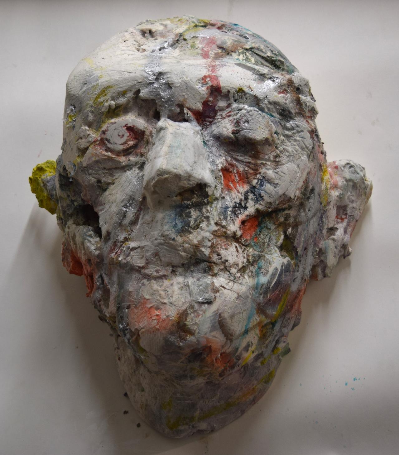 A sculpture by Amy Derek Weisberg in his studio (#327) at 1717 Troutman