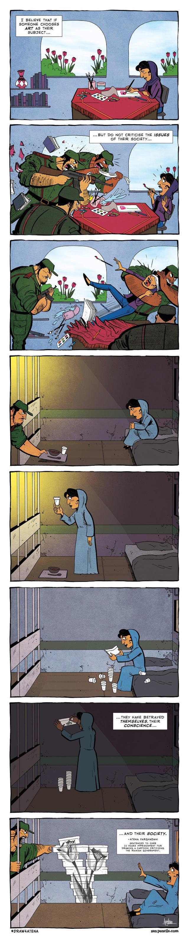 Cartoon by Gavin Aung Than (Image via zenpencils.com)