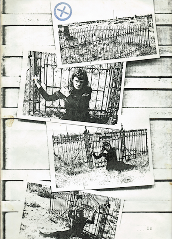 Page  from the personal journal of Exene Cervenka 1974-1976 (via sloanprojects.com)