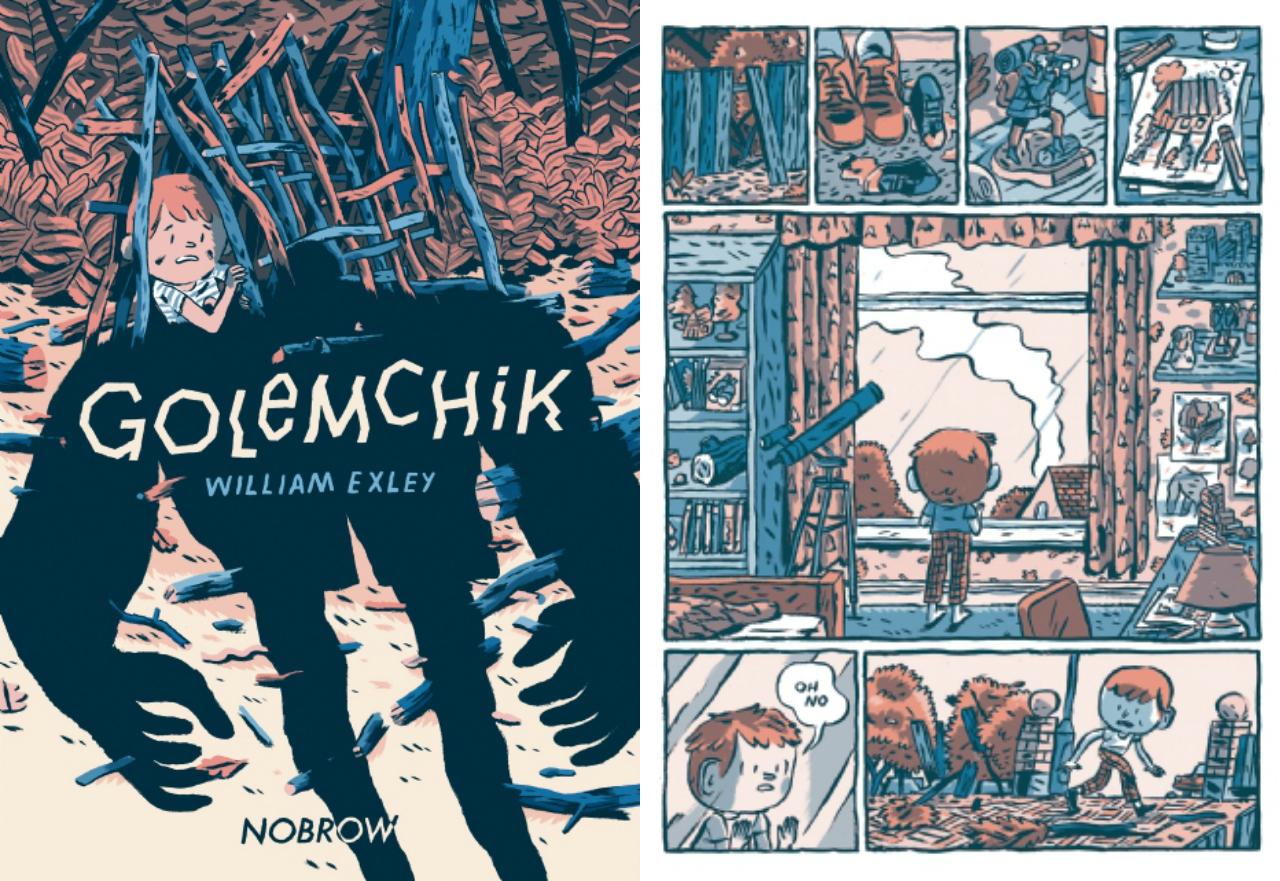 'Golemchik' by William Exley