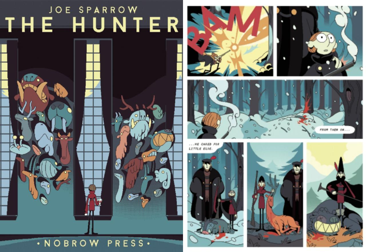 'The Hunter' by Joe Sparrow