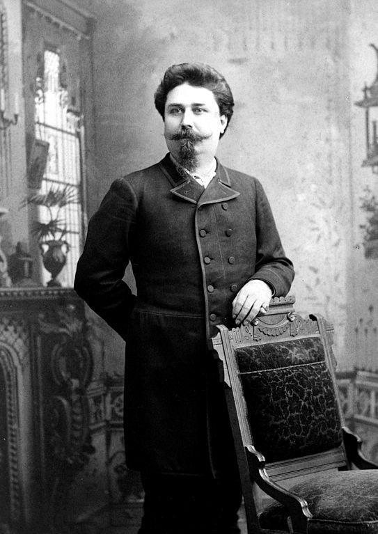 Joseph Labadie (1890) (via Wikimedia)