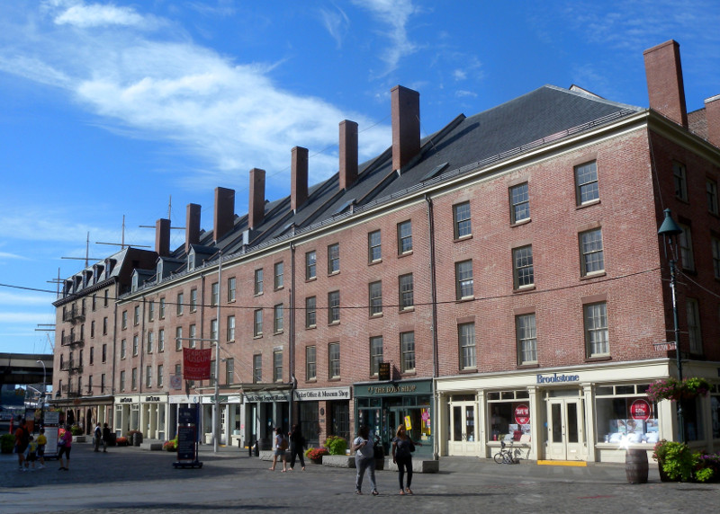 South Street Seaport, listed on the National Trust's 11 Most Endangered Places (photo by Jim Henderson, all images courtesy National Trust for Historic Preservation)
