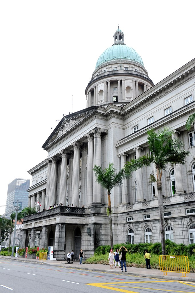 Exterior of National Gallery Singapore (courtesy National Gallery Singapore, via Flickr)