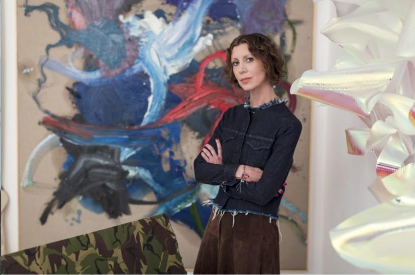 Valeria Napoleone (photo by Michael Leckie, via Contemporary Art Society(