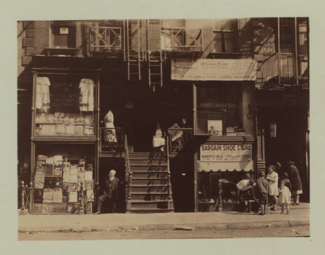 97 Orchard Street, future home of the Tenement Museum (1929) (Irma and Paul Milstein Division of United States History, Local History and Genealogy, New York Public Library)