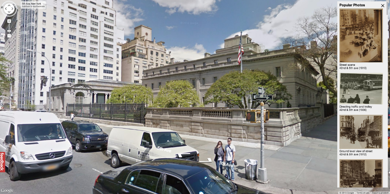 The Frick Collection today on Google Maps