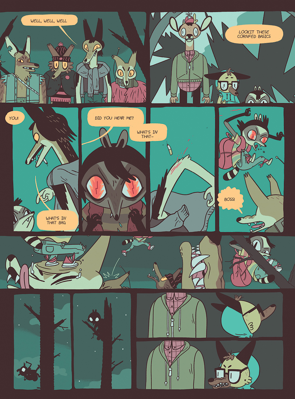 Page from 'Vacancy' by Jen Lee
