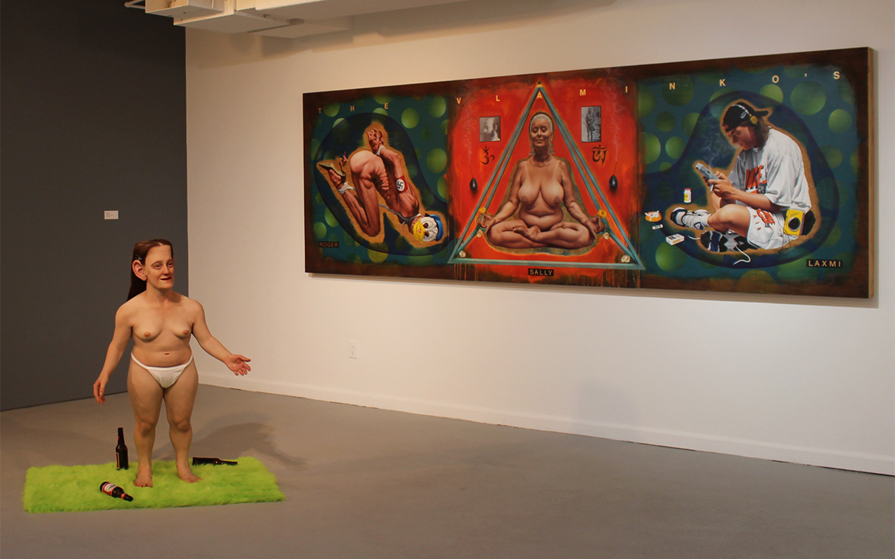 Installation view of 'Lust' at the Hudson Valley Center for Contemporary Art (all photos by the author for Hyperalleric)