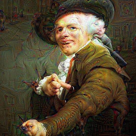 Joseph Ducreux's self-portrait (image via @thebyronichero/Instagram)